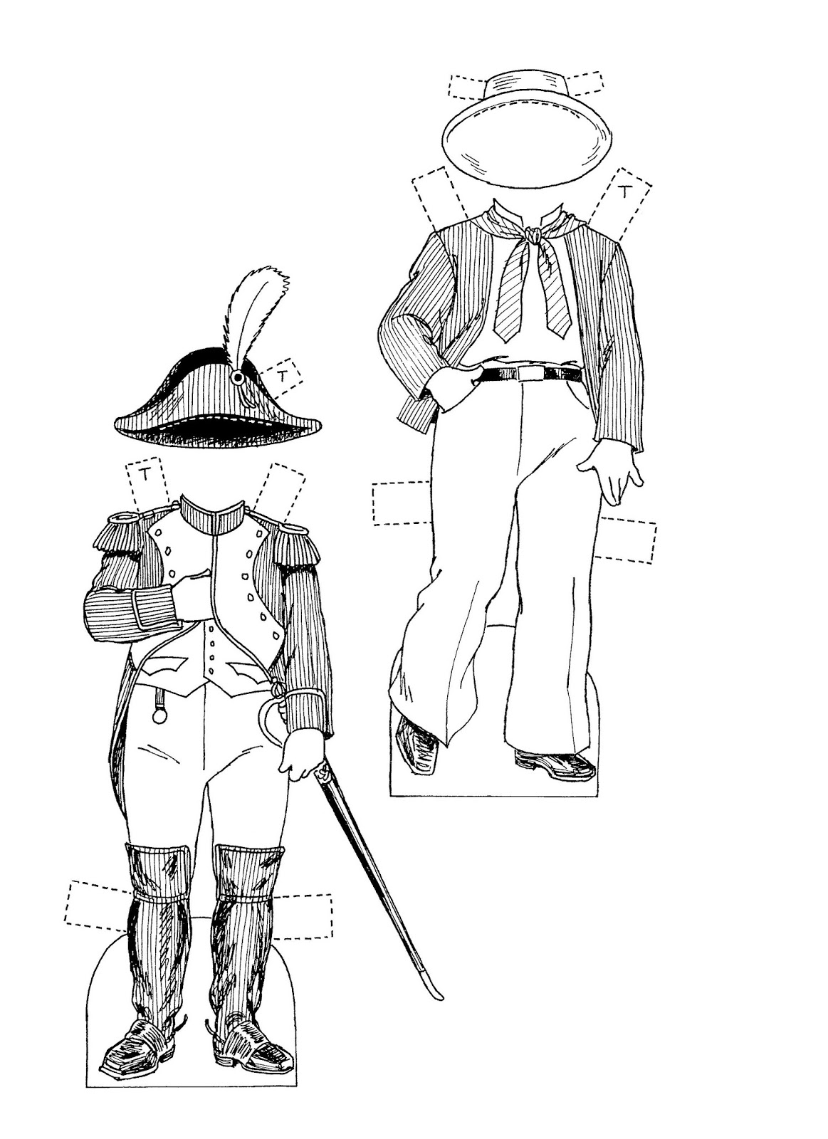 Mostly Paper Dolls Too!: Who Was General Tom Thumb? A