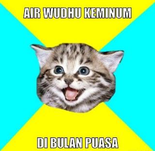 Gambar foto DP Meme lucu Puasa Sahur di bulan Ramadhan Terbaru Download