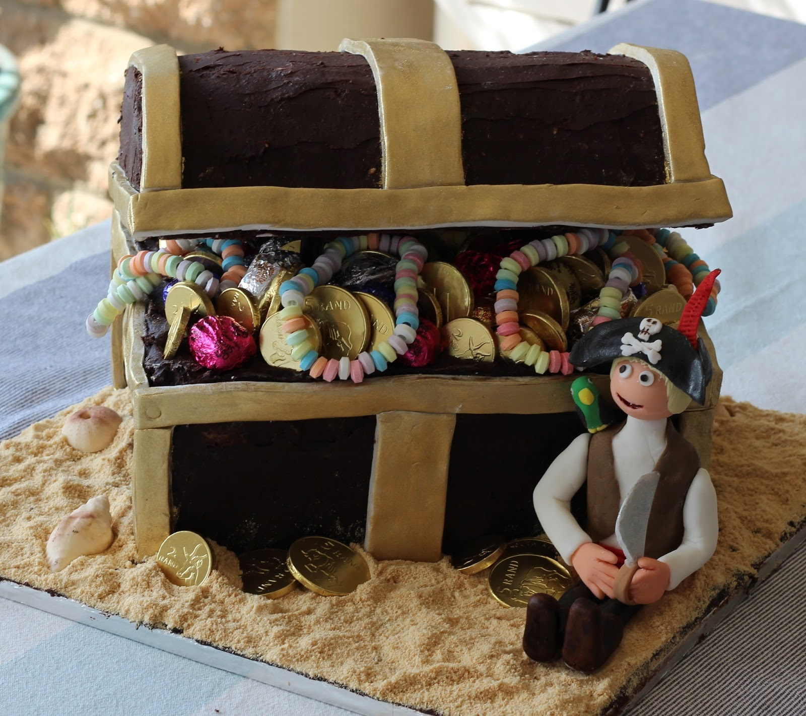 Live Dream Bake Ahoy There Matey S Treasure Chest Cake