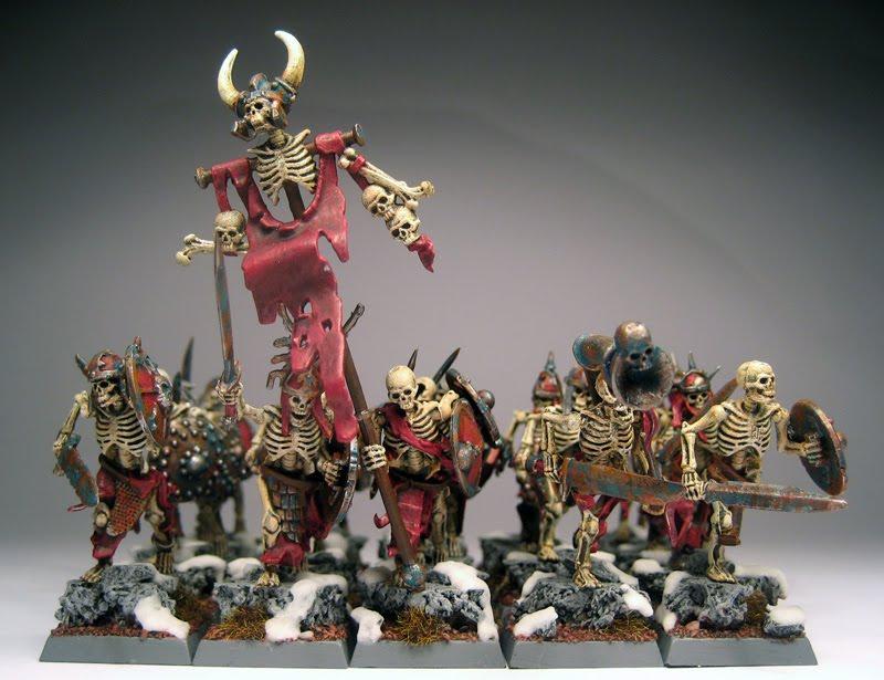 Miniatures Art Team Skeleton Warriors