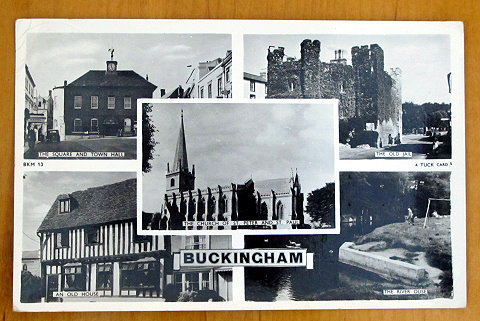 Buckingham old postcard