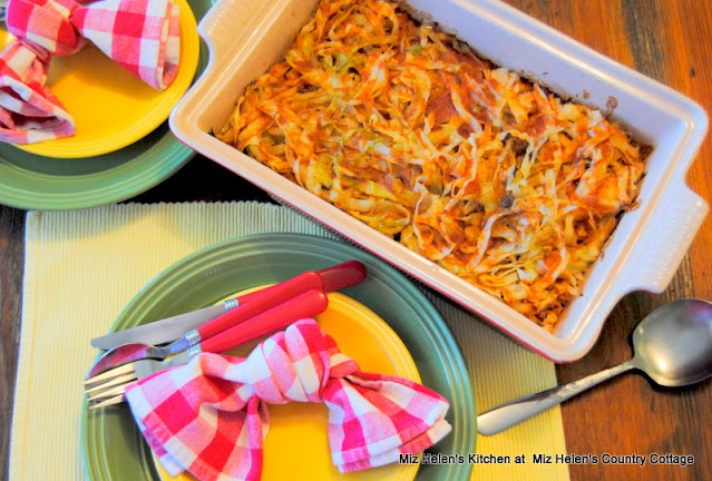 Cabbage Caboodle Casserole at Miz Helen's Country Cottage