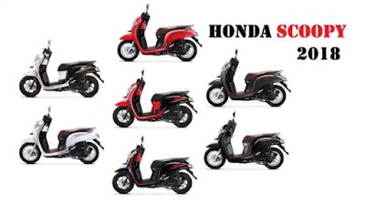 Spesifikasi lengkap dan harga Motor Honda Scopy terbaru