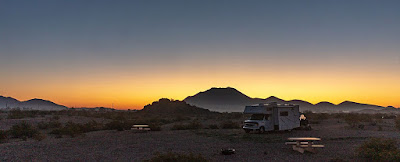 The Southwestern Sojourn - Day 47:  Painted Rock Petroglyph Campground, Day 2