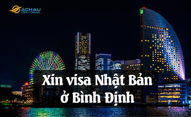 Xin visa Nhật Bản ở Bình Định