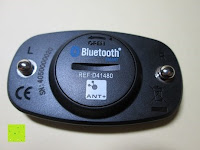 Rückseite: smartLAB hrm W Bluetooth 4.0 /ANT Herzfrequenzstoffgürtel NEU nachfolger von smartLABhrm und smartLABhBeat.