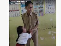 RIP Otong! Gak Mau Disuntik, Bocah SD Ini Nendang Alat Vital Gurunya