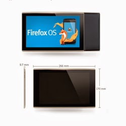 Mozilla tablet, Firefox OS, Mozilla tablet running Firefox OS, new tech,