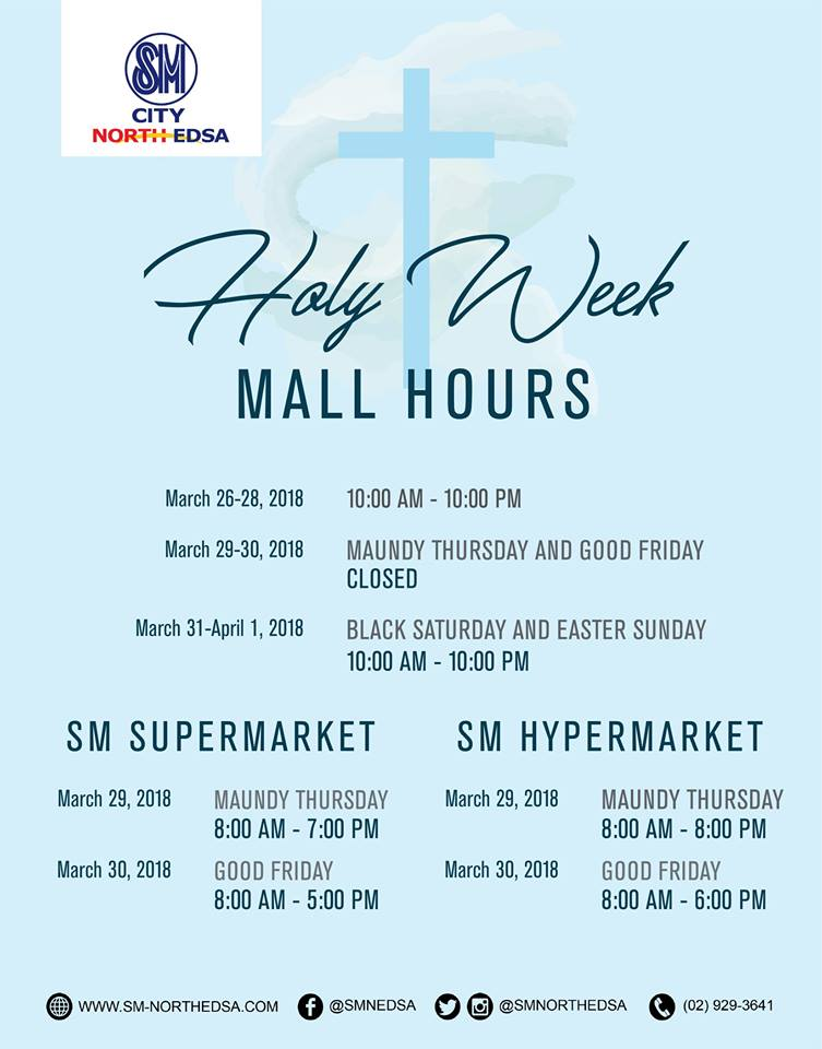 manila shopper  mall hours  supermarkets  theme parks