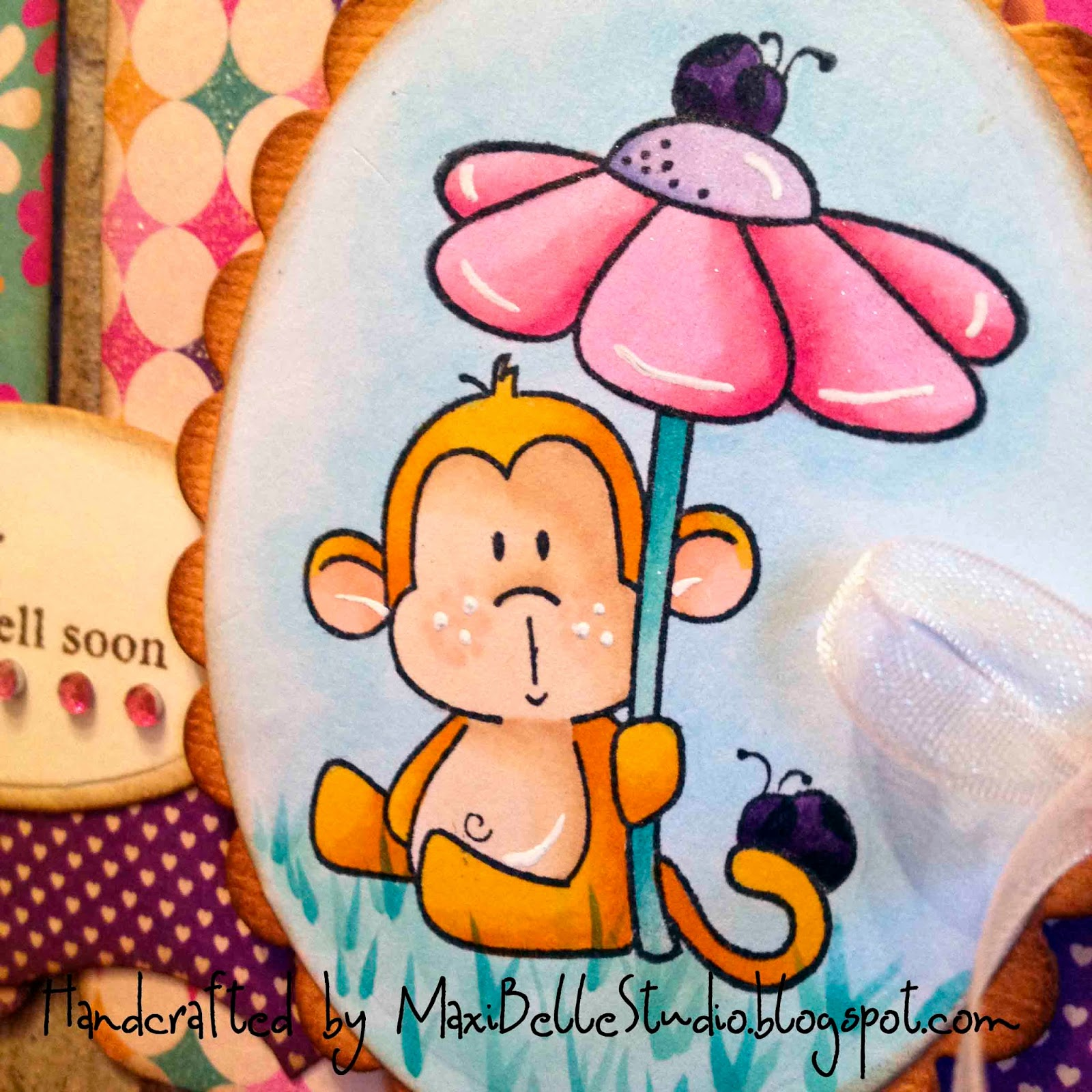 CC Designs Flower Power Monkey