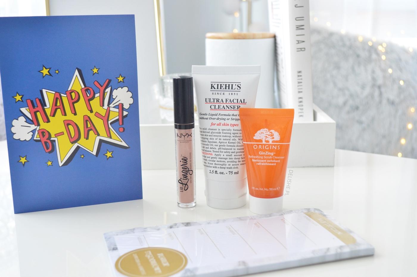 prezenty urodzinowe blog kosmetyki nyc, kiehl's, origins
