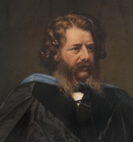 retrato de william john macquorn rankine