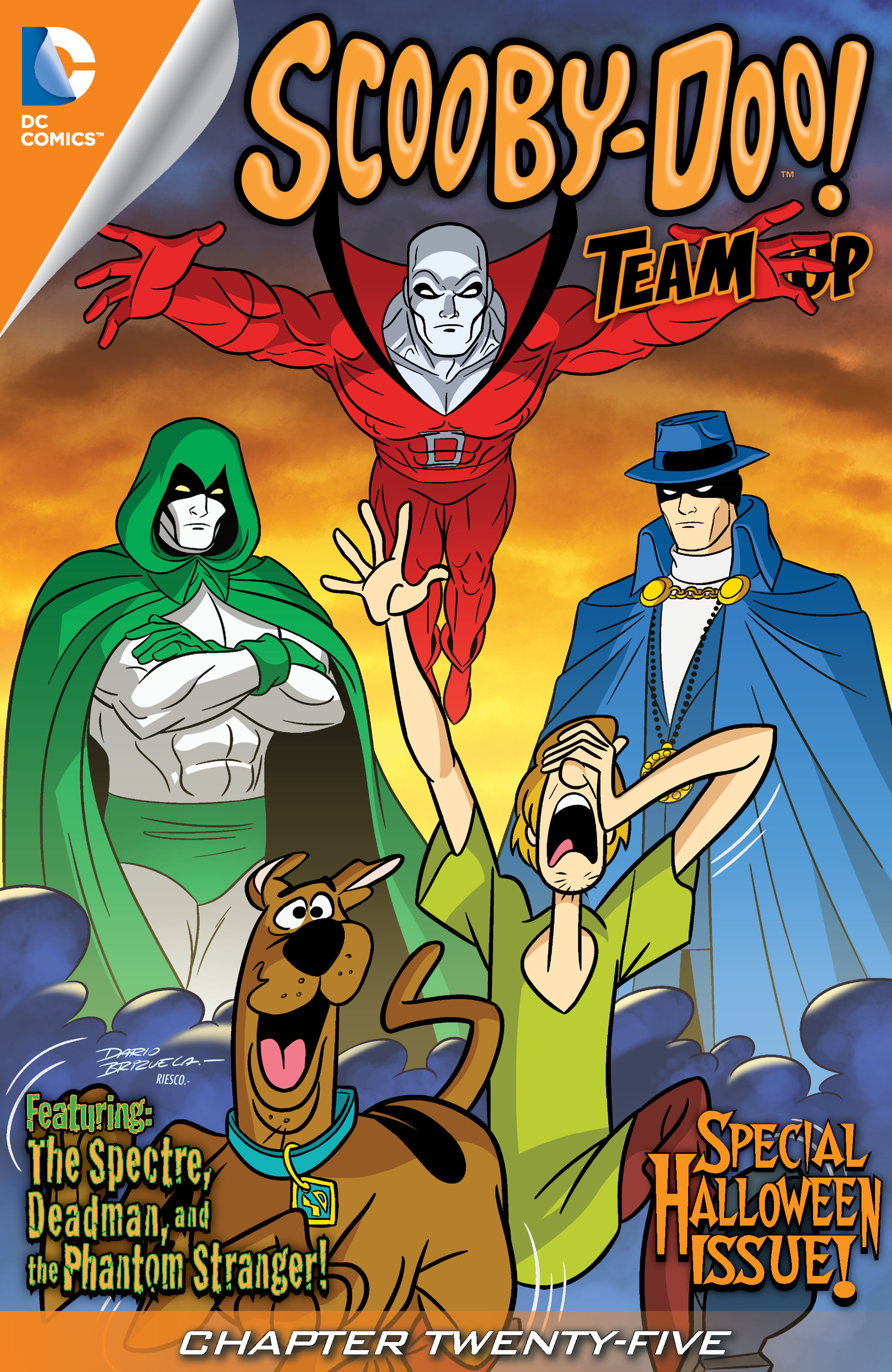 Read online Scooby-Doo! Team-Up comic -  Issue #25 - 2