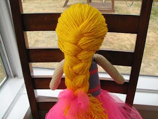L'accroche laine - Toutou ballerine