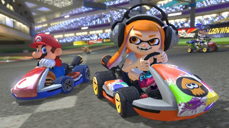 Mario Kart 8 Deluxe confirma su tamaño en digital