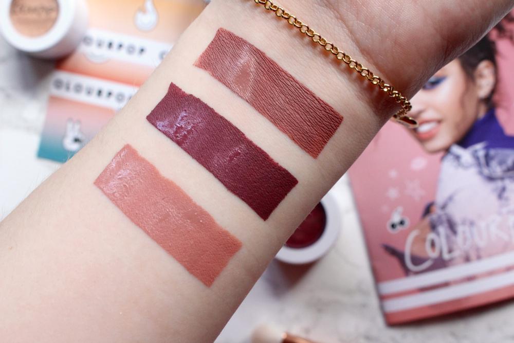 Colourpop Ultra Matte Liquid Lip Swatches