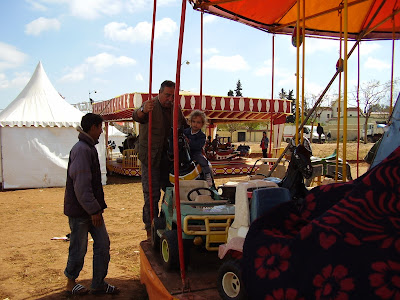 Feria durante la Festividad de los Aisauas en Mequinés (2008)