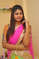 Lucky Sree in dasling Pink Saree and Orange Choli DSC 0324 1600x1063.JPG