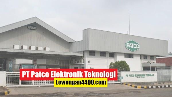 Lowongan Kerja PT Patco Elektronik Teknologi Cibitung