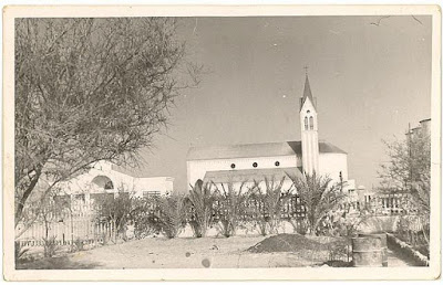 "The church and the school I guess in the past by ""Ashraf Baraka"""