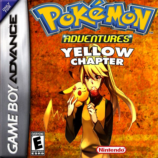 Pokemon Adventures Yellow Chapter