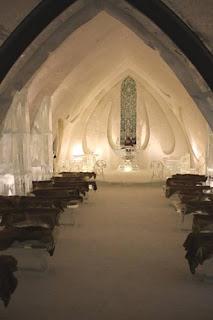 Ice Chapel.