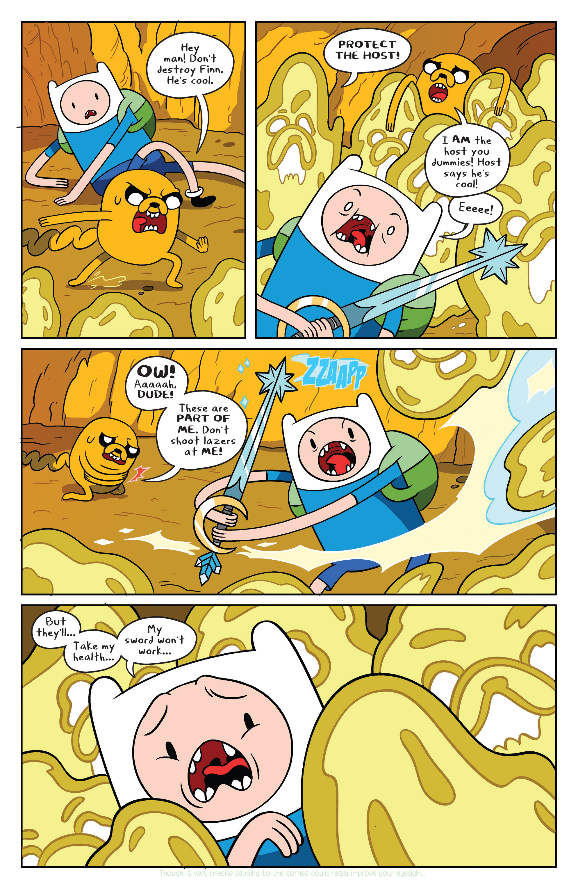 Read online Adventure Time comic -  Issue #38 - 7