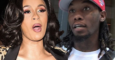 Video : Cardi B announces she is splitting  with Offset