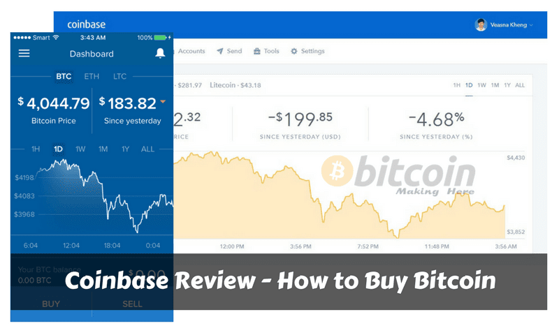 Coinbase Review - How To Buy Bitcoin With Coinbase | Bitcoin Making Here