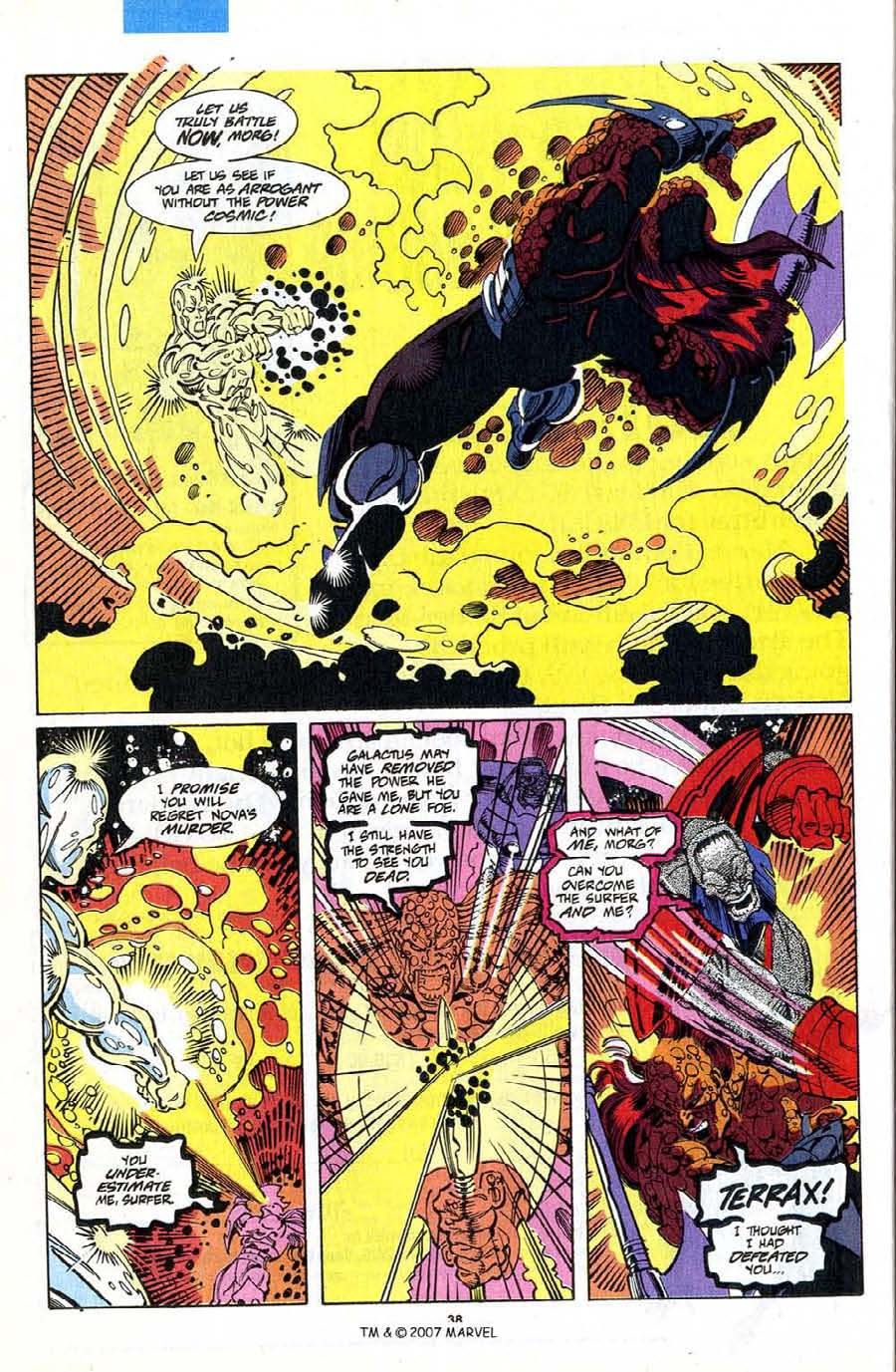 Read online Silver Surfer (1987) comic -  Issue #75 - 40