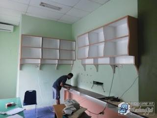 Kontraktor Interior - Frontdesk dan Interior Kantor Untuk Ruang Lobi - Semarang