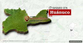 Temblor en Huánuco de 3.8 Grados (Hoy Domingo 17 Septiembre 2017) Sismo EPICENTRO Castrovirreyna - IGP - www.igp.gob.pe