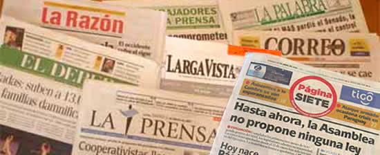 Censura a medios en Bolivia