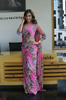 Angela Krislinzki Rogue Movie Fame Telugu Actress in Saree Backless Choli 111.JPG