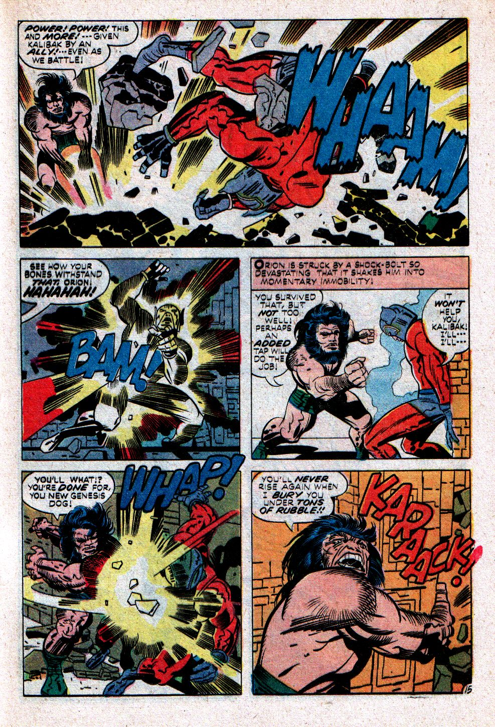 The New Gods (1971) issue 11 - Page 21