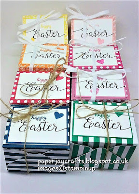 Paperjay Crafts Envelope Punch Board Easter Box,