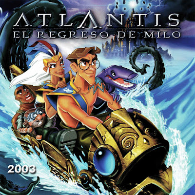Atlantis - El regreso de Milo - [2003]