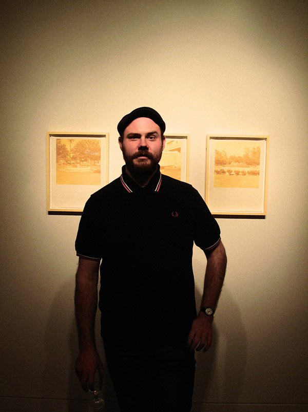 Portrait of PAUL ADAIR, A.S.S (Artificial Spatial Systems), Opening at Stills Gallery Sydney