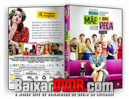 Minha Mãe é uma Peça (2013) DVD-R Oficial