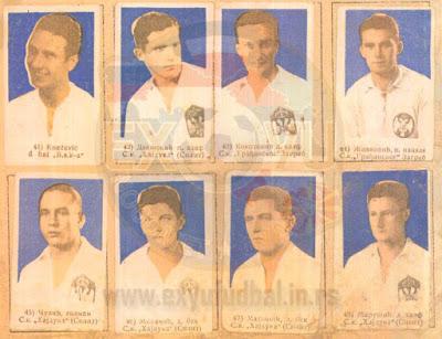 Hajduk Split album sličice Tempo 1937/38
