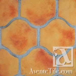 Arabesque Pata Grande Spanish Paver Handmade Cement Tile