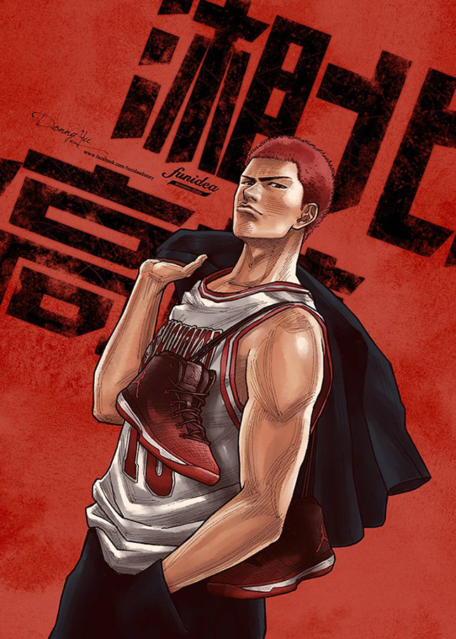 Donny Yu 唐尼宇: FunIdea - #YellowMenace Basketball Art Collection