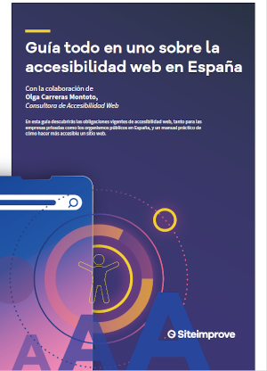 Portada de la Guía todo en uno sobre la accesibilidad web en España
