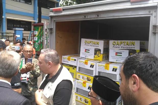Palestina Tidak Tinggal Diam dengan Derita Indonesia, Hingga Bangun Rumah di Sulteng