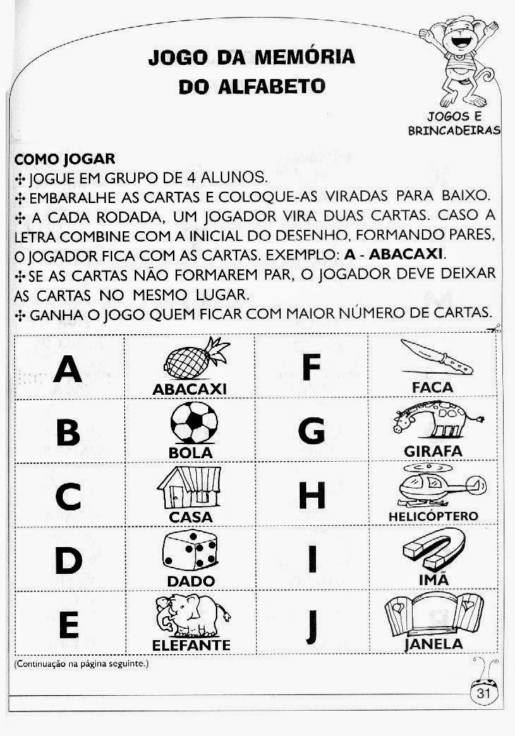 Blog Cantinho Alternativo Jogos Para Alfabetizacao E Letramento