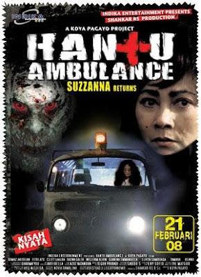 Hantu Ambulance Poster