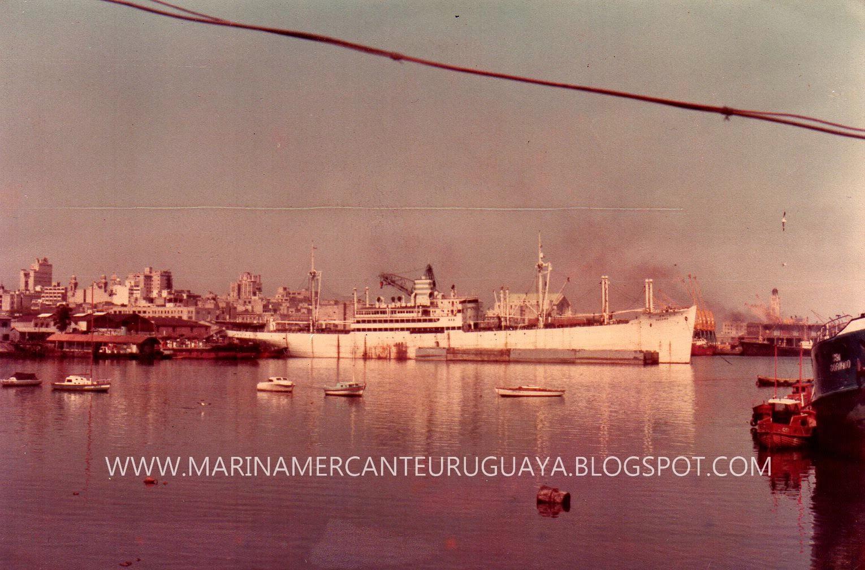 MARINA MERCANTE URUGUAYA: T/S Tacoma, ANP 1946-1969