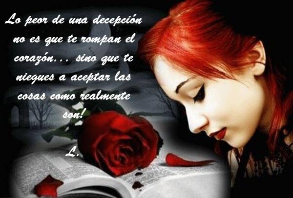 Imagenes De Amor Desamor Frases Fotos Mensajes Decepcion Traicion