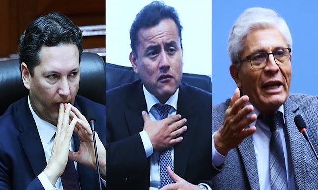 Daniel Salaverry, Richard Acuña, Jorge Castro