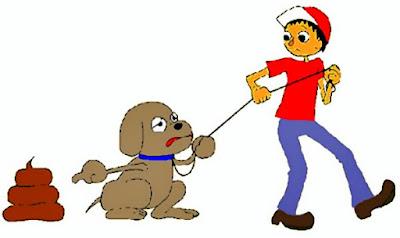 """El incívico """"Cacaperro"""" saca al perro para que haga caca en la calle pero no recoge las heces"""